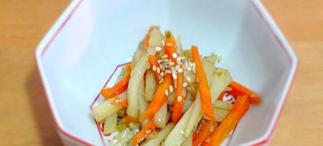 Kimpira au topinambour 菊芋のきんぴら
