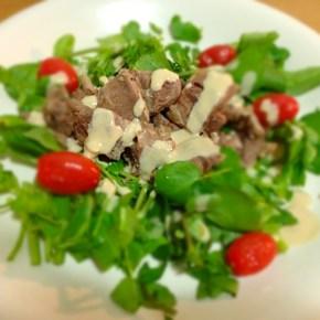 Salade au bœuf コールドビーフサラダ牛すじバージョン