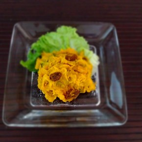 Salade de potimarron かぼちゃサラダ