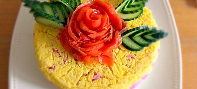 gâteau de sushi 寿司ケーキ