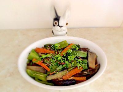 marinade froide de légumes d'été