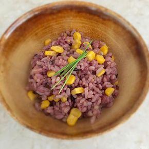 Riz sauvage au maïs