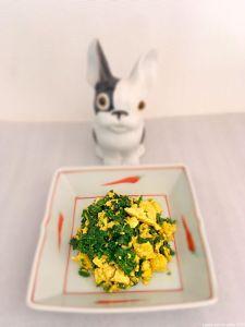 «œufs» brouillés vegan