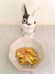 Kimpira au fenouil