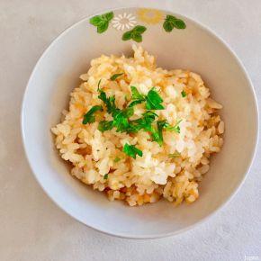 Takikomi à la carotte 人参炊き込みご飯