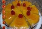 طريقة تحضير كيكة البرتقال والكرز