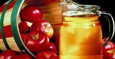 خل التفاح في المنزل