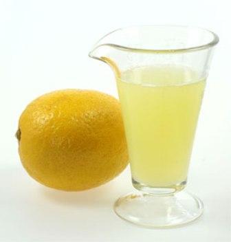 قناع عصير الليمون