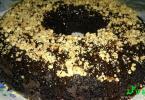 كيكة ساردة بالشكلاط الكاكاو