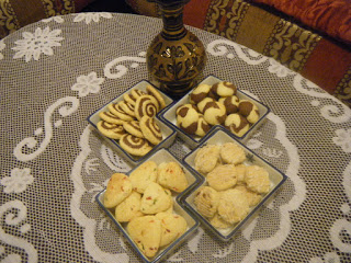 حلويات صابلي اربعة اشكال بعجينة واحدة