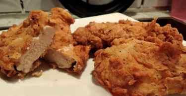 دجاج كنتاكي في البيت