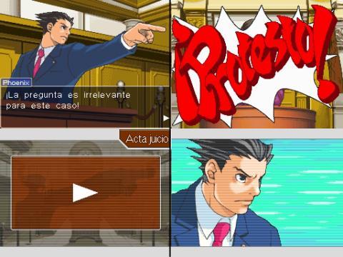Resultado de imagen para phoenix wright ace attorney nds