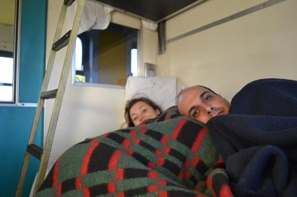 Atravessando a África do Sul de trem, 30 horas de viagem