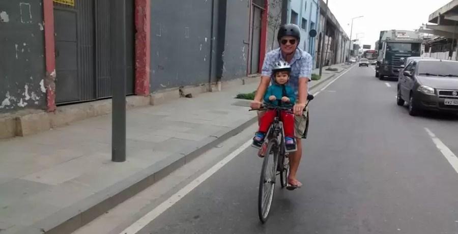 paz amor e bicicleta