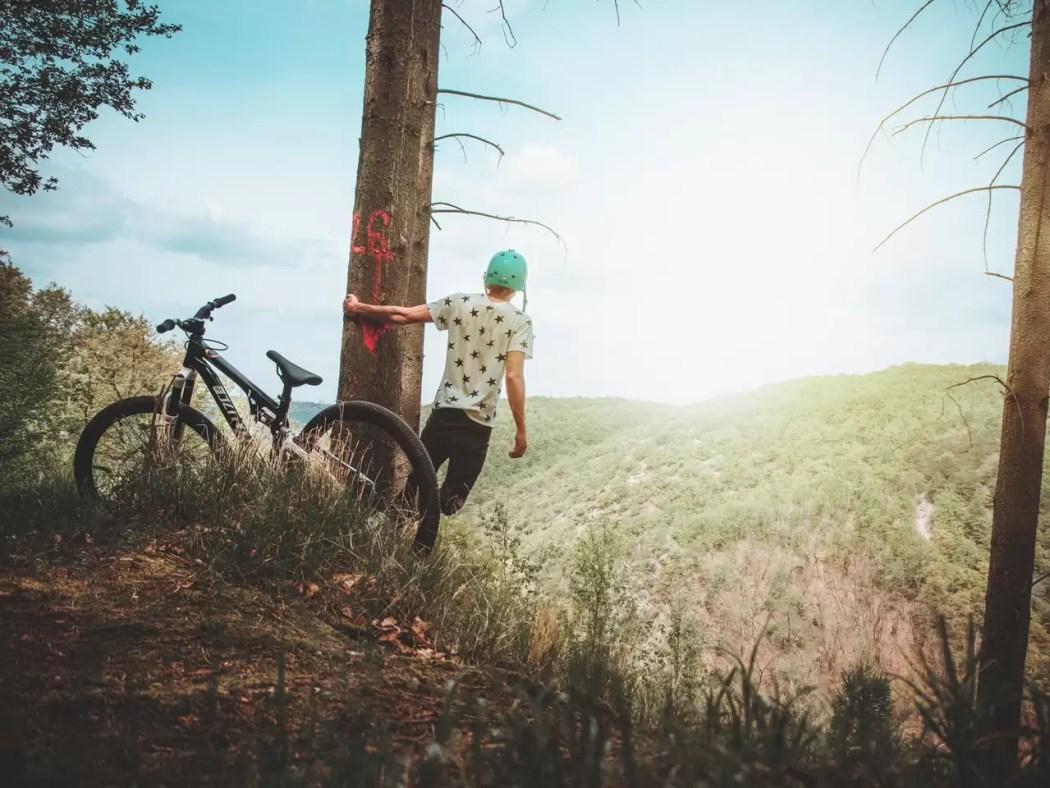 mochilão de bike