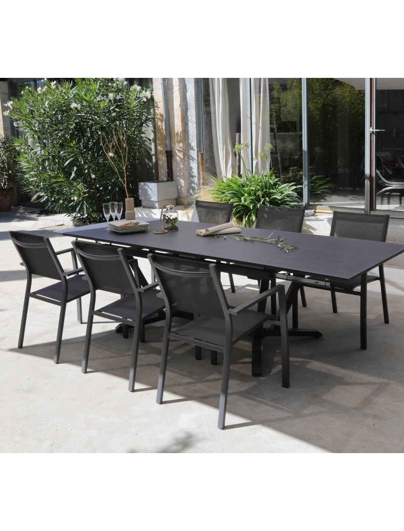 table vita 150 250 grise