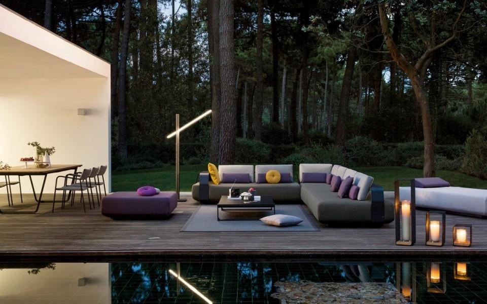 meubles de jardin pour veranda a