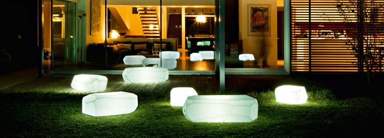Furniture And Light Objects Luminaires For Exterior