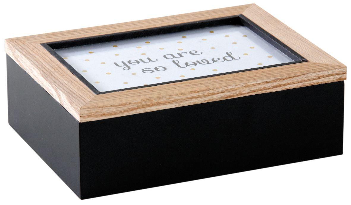 boite a compartiment avec cadre photo sur le couvercle