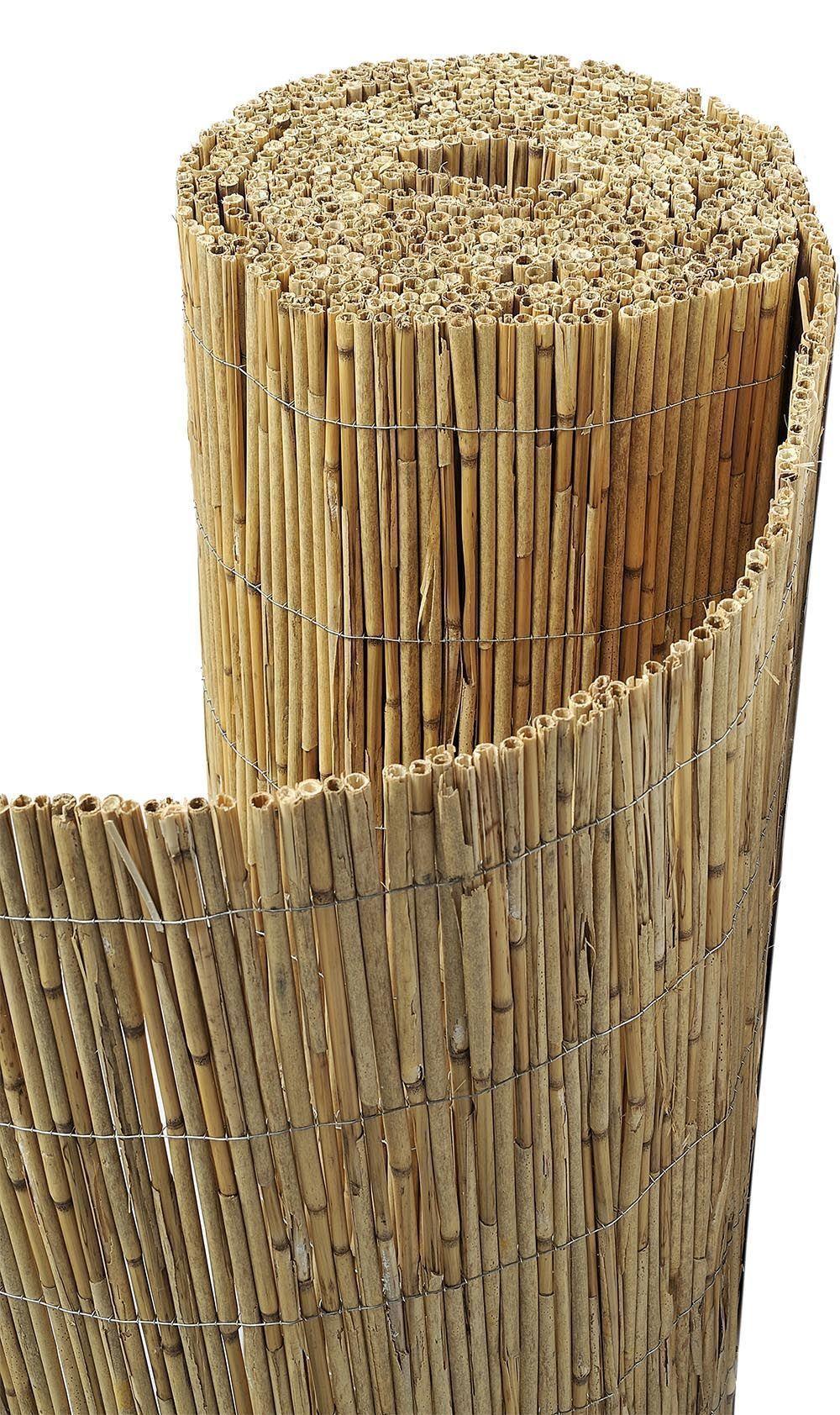 canisse paillon de bambou non pele 1 5 x 5 m