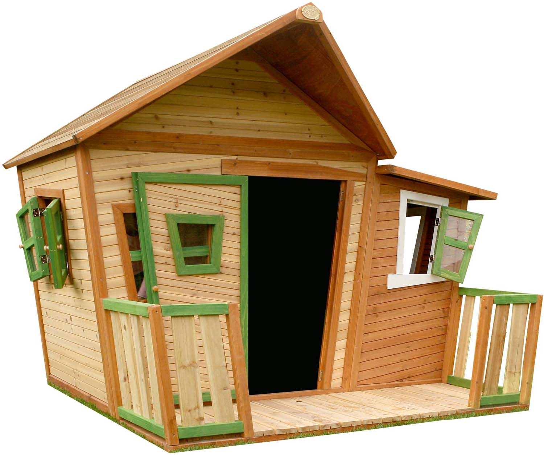 grande cabane d exterieur enfant en bois lisa