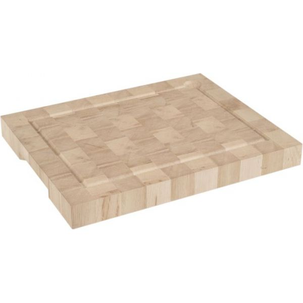 planche a decouper en bois de bout 30 x 40 cm