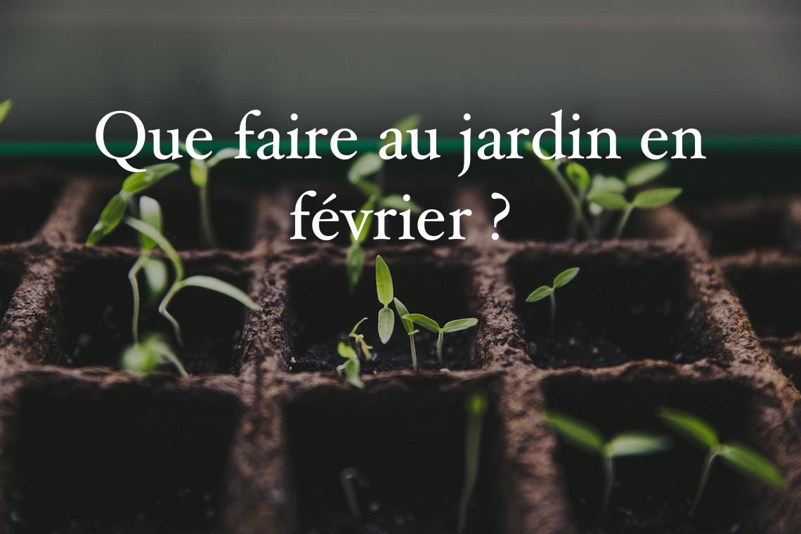 Quoi Mettre Au Potager En Septembre que faire au jardin en février ? - jardiner futé en permaculture