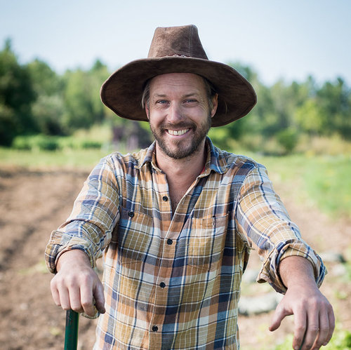 Jean-Martin Fortier, l'auteur du jardinier maraîcher