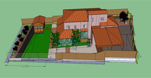 Diseño jardines en 3D