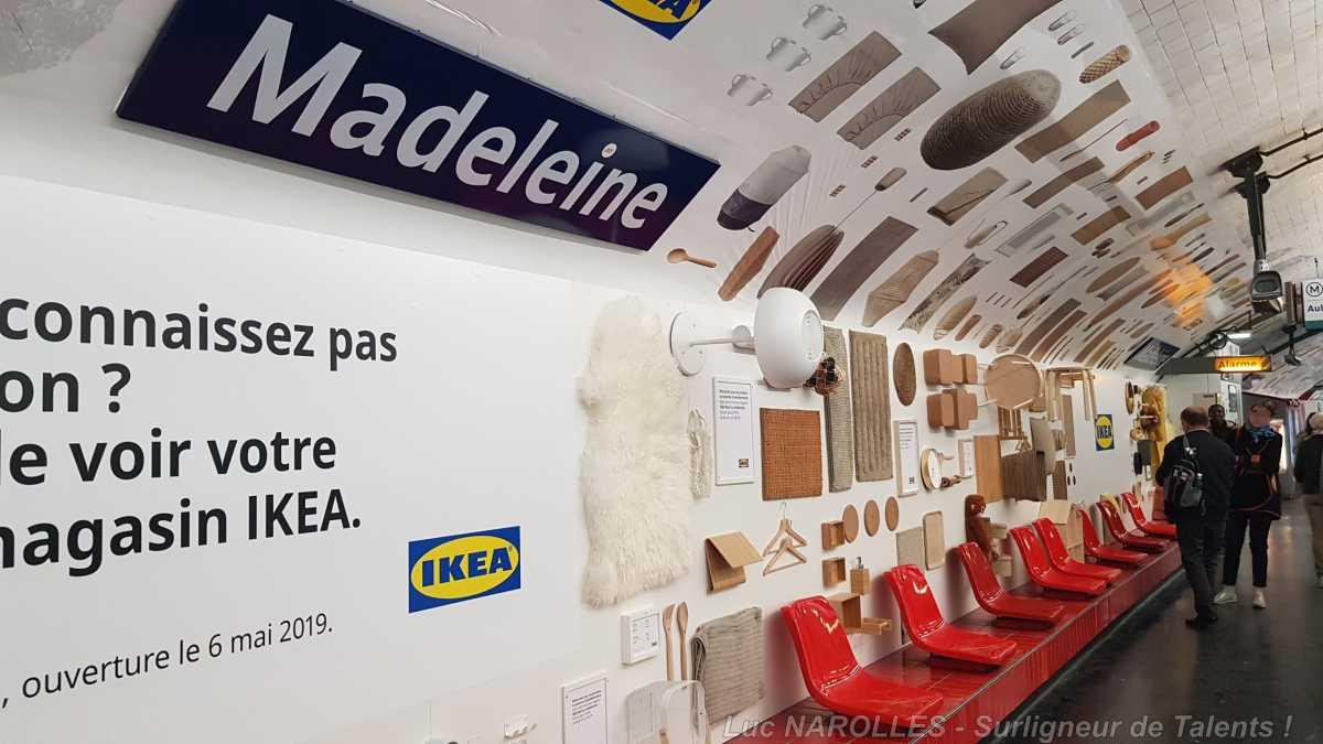 Photo Ikea Paris La Madeleine Décoration Végétal Dès L