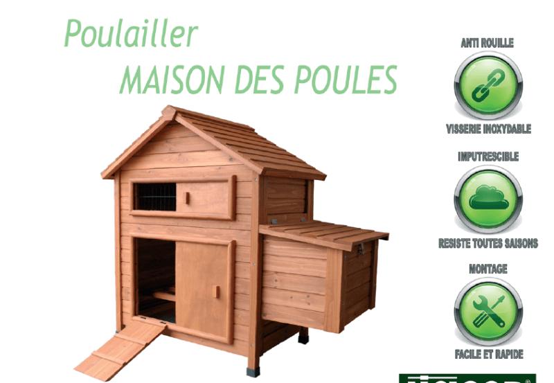 maison des poules
