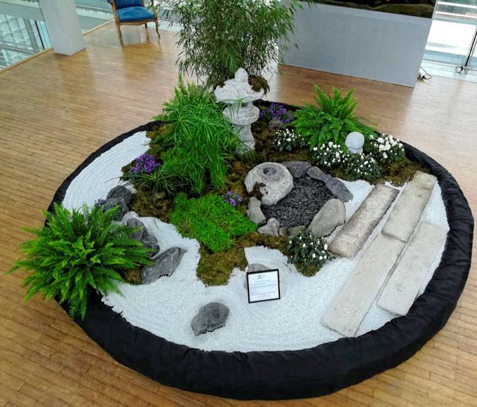 jardins japonais ephemeres jardin