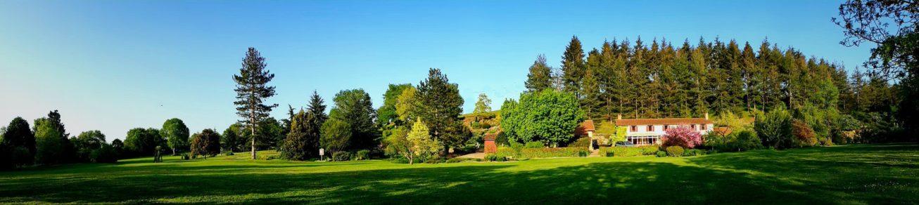 Panoramique Les Jardins du Gué