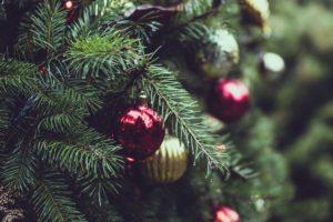 Sapin de Noël Nordmann & décorations
