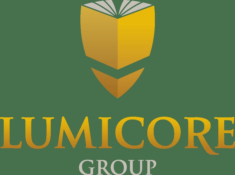 Lumicore Group Logo Design
