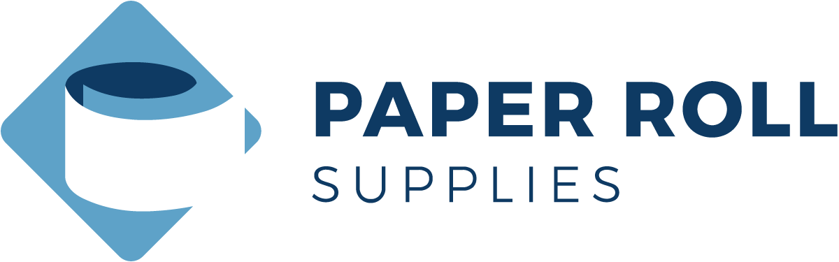 Paper Roll Supplies Logo Design Concept