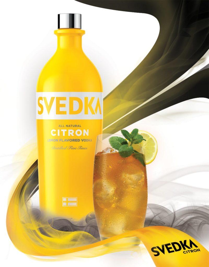 Svedka Point Of Sale Design (Citron Flavor)