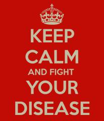 keep-calm battle disease