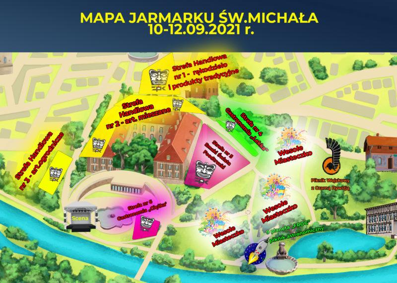 mapa dywizja