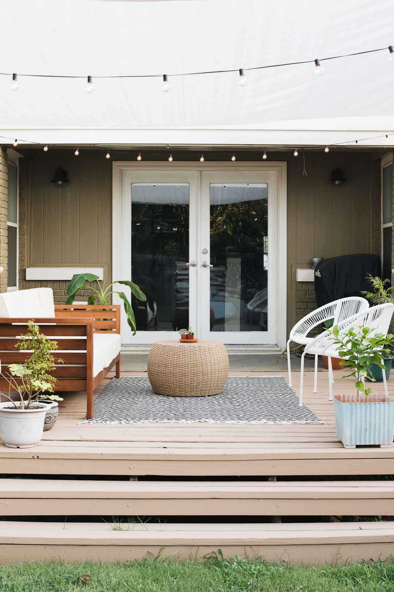 decorating ideas for a small deck jar
