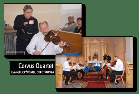Natáčení Corvus Quartet, www.JaroslavSmekal.cz