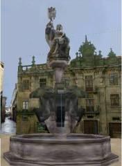 Santiago 2000 Virtual City Praza das Platerias