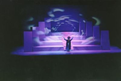 Starchild, the Opera Syd Mead Designed Set Image