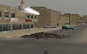 Virtual Iraq PTSD Therapy System RPG Firing