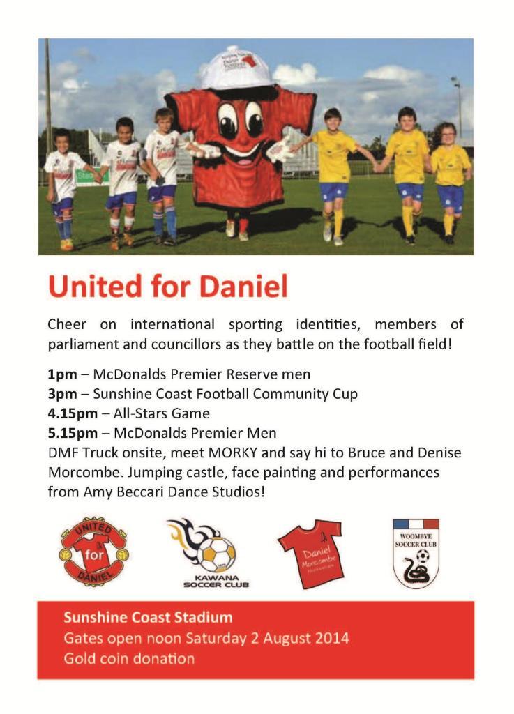 United for Daniel 02 08 2014