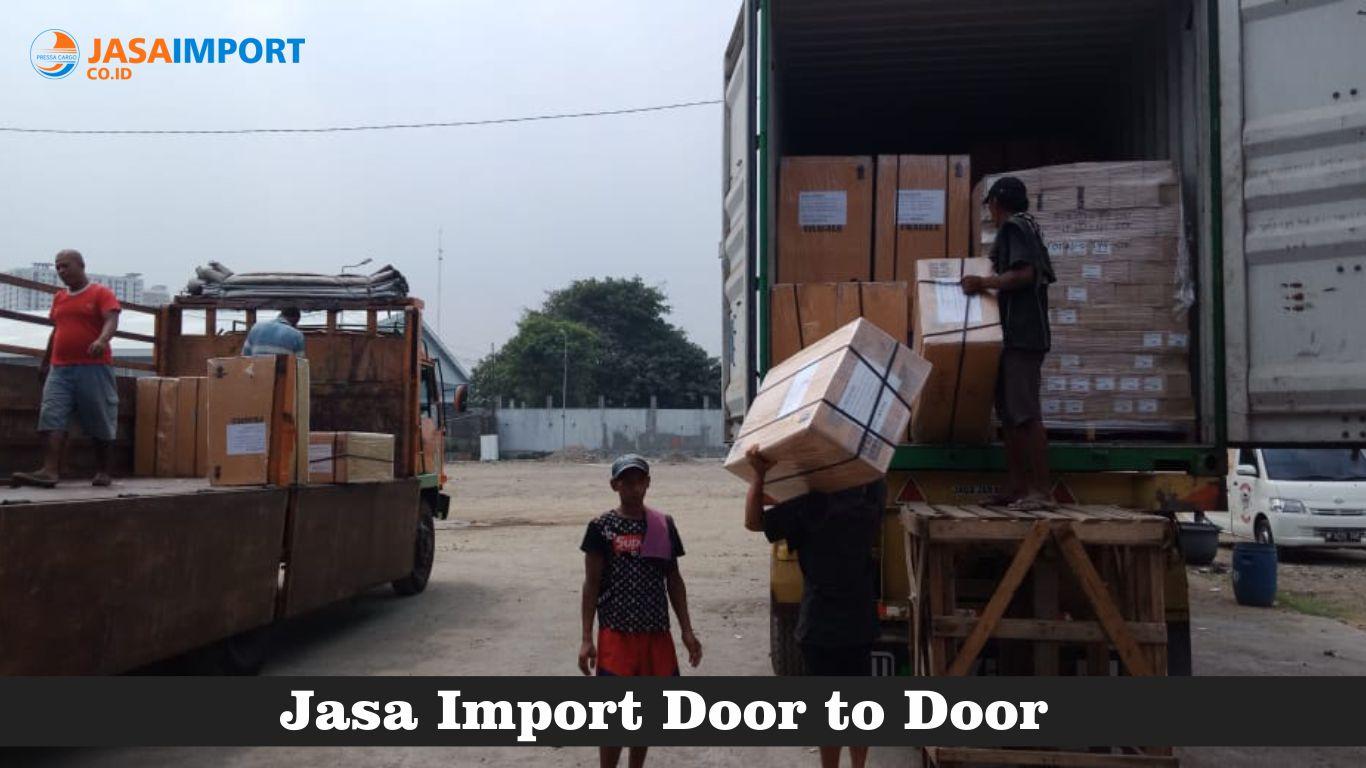 Pressa Cargo Forwarder Import door to door di Jakarta terpercaya