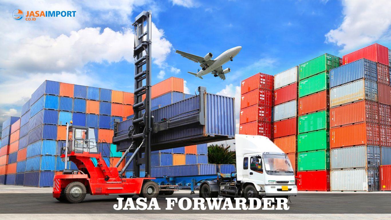 Jasa Forwarding Pengiriman Barang Import Pressa Cargo