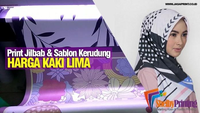 Print Jilbab dan Sablon Kerudung