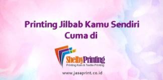 Printing Jilbab Kamu Sendiri