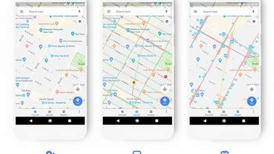 Google Maps updated with new look, features | Jasarat Newspaper English